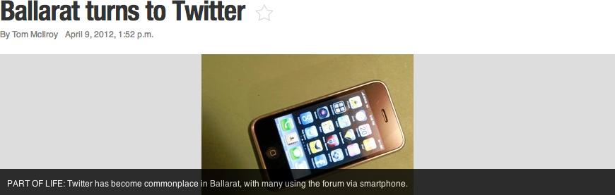 Twitter Ballarat